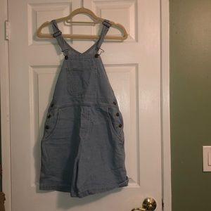 American Apparel overall shorts!